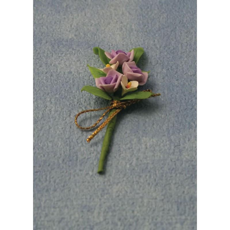 Babettes Miniaturen Roses Bouquet