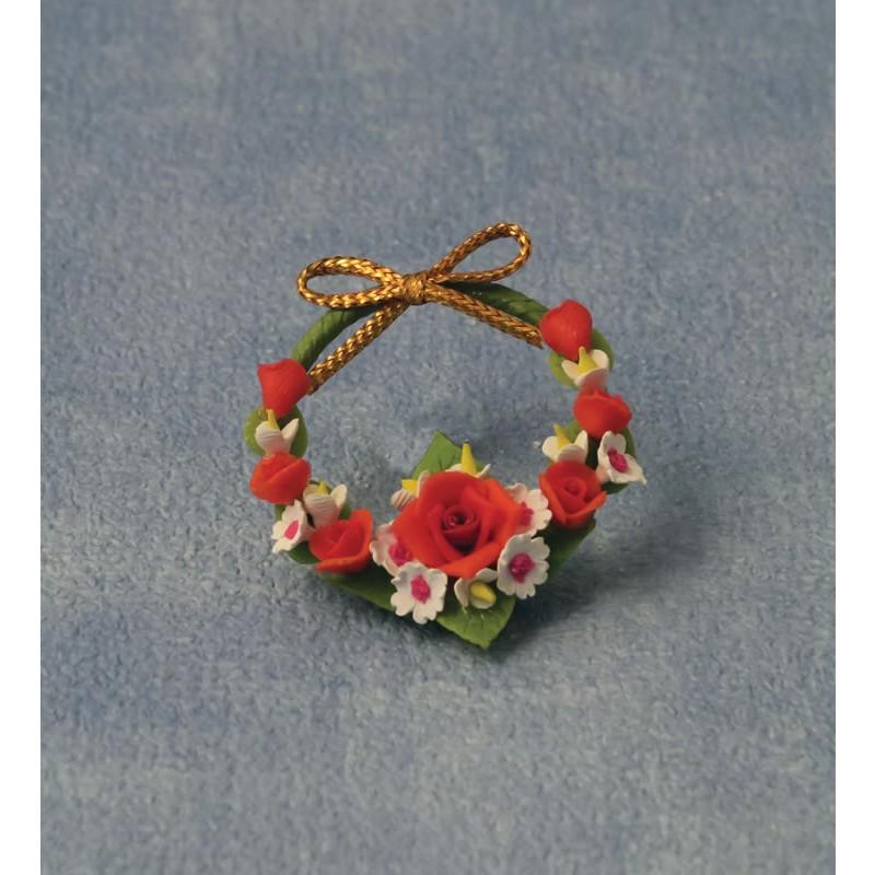 Door Garland/Wreath Roses