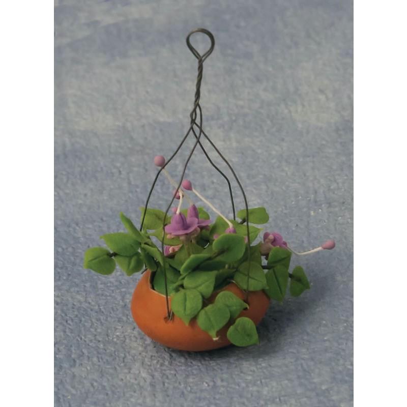 Babettes Miniaturen Fuchsia Hanging Basket