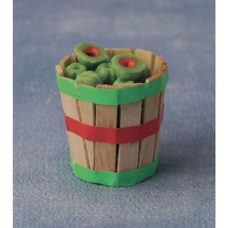 Babettes Miniaturen Melon basket