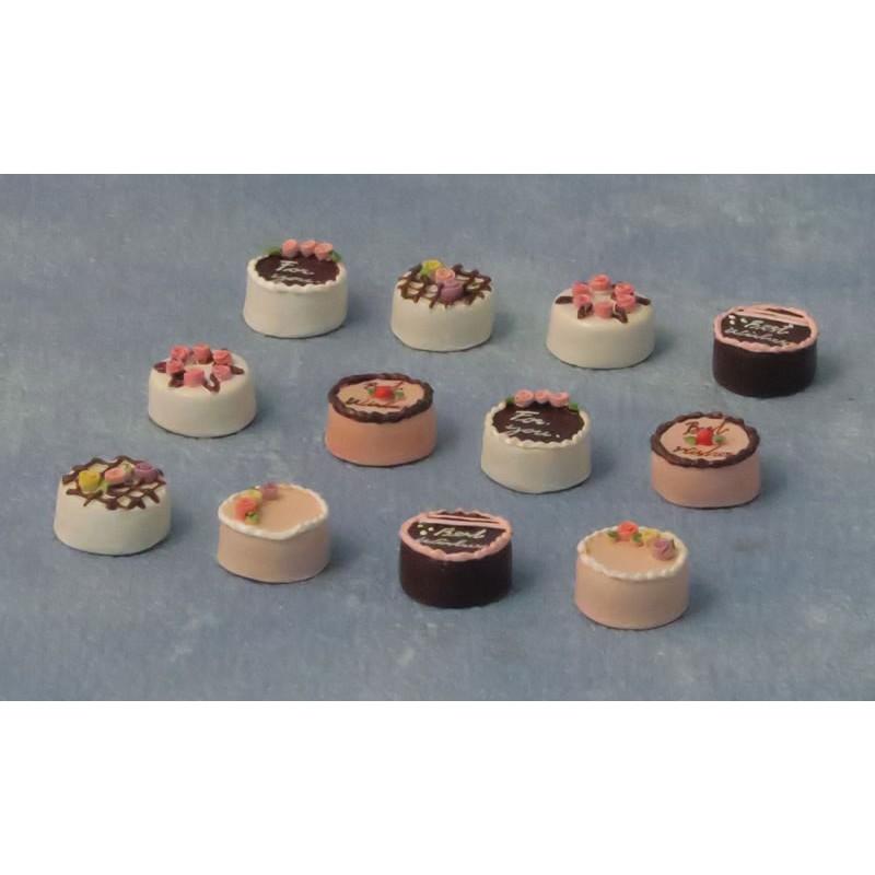 Babettes Miniaturen Cake pk6
