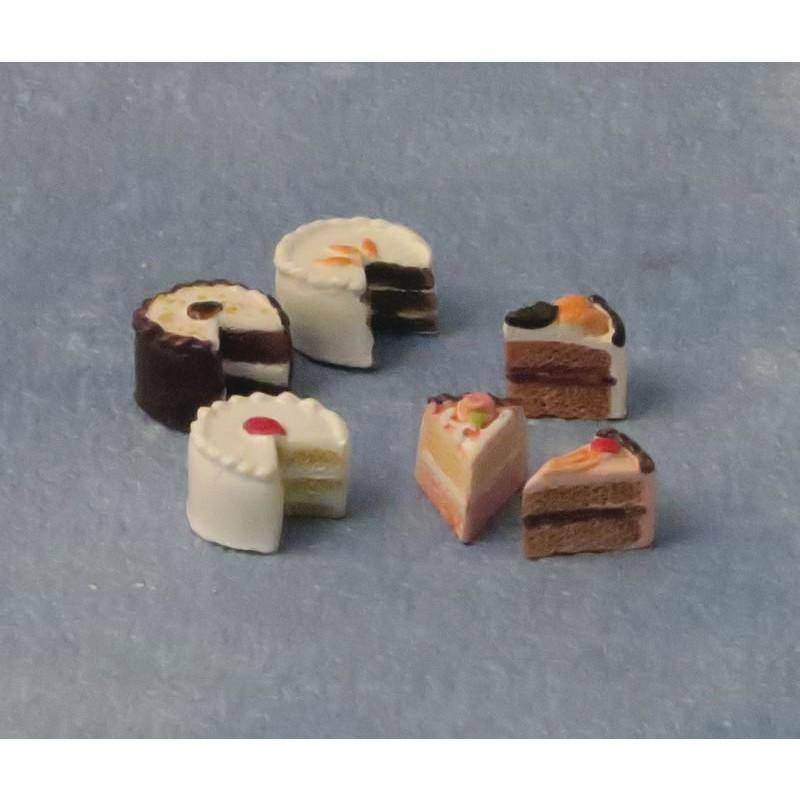 Babettes Miniaturen Piece of cake pk6