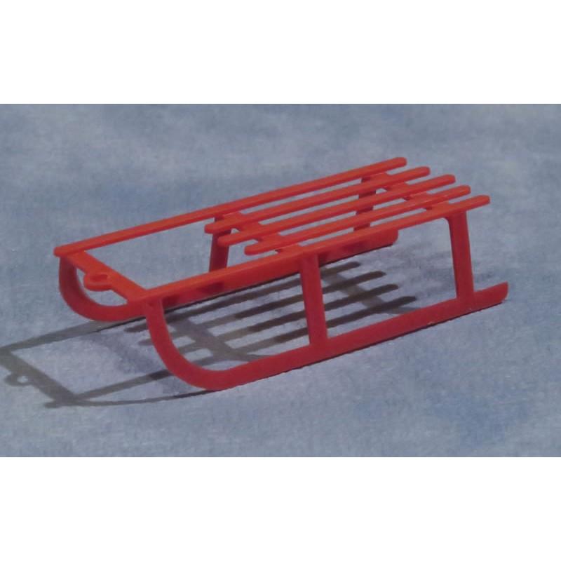 Babettes Miniaturen 80mm Sledge Red
