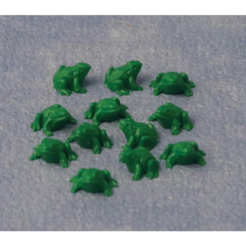 Babettes Miniaturen Frog 12 pcs