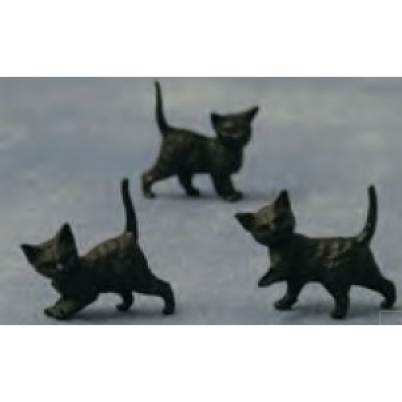 Babettes Miniaturen Black Kittens 12 pcs