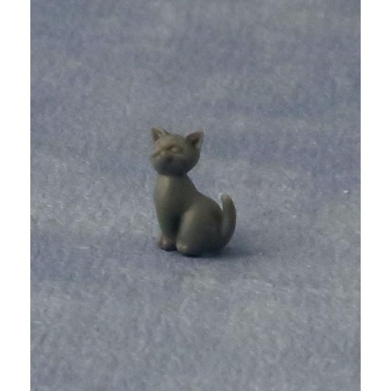 Babettes Miniaturen Grey Sitting Kitten pk6