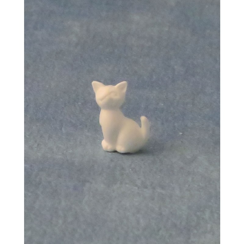 Babettes Miniaturen White Sitting Kitten pk6