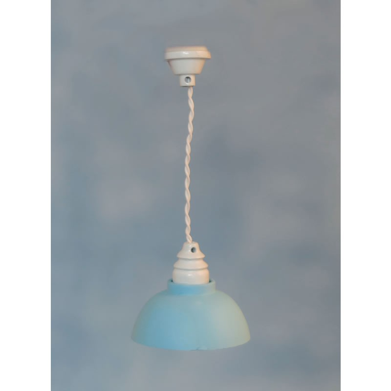 Streets Ahead Blue Shade Ceiling Light