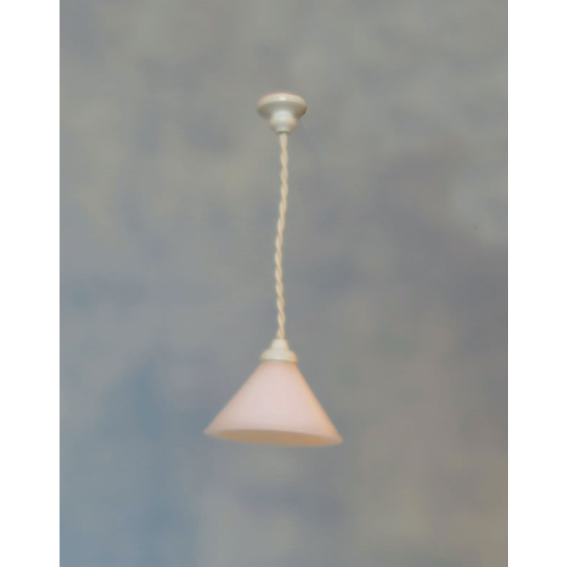 Streets Ahead White Ceiling Light Coolie Shade