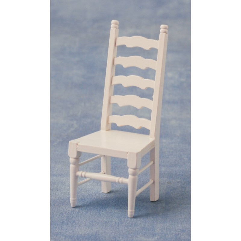 Ladderback Chair White