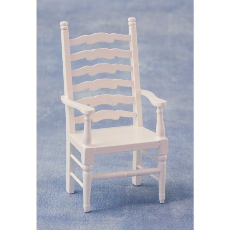 Ladderback Carver White