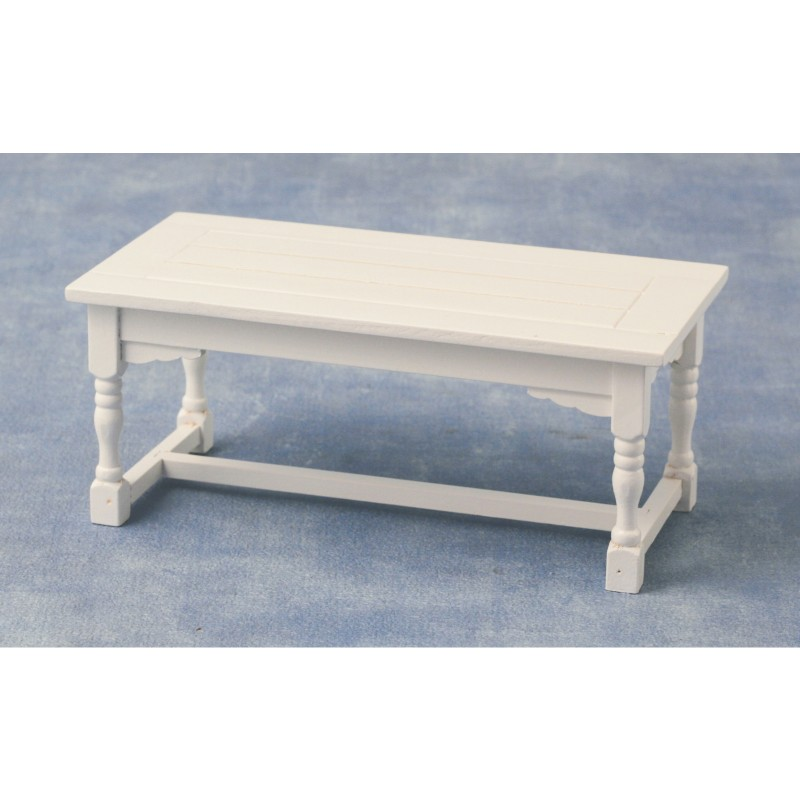 Refectory Table White