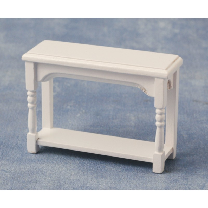 Hall Side Table White