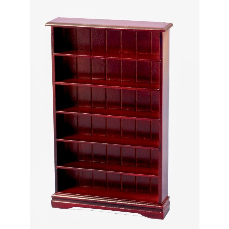 6 Shelf Bookcase Mahogany