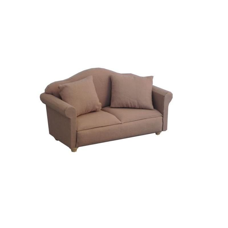 Grey Traditional Sofa