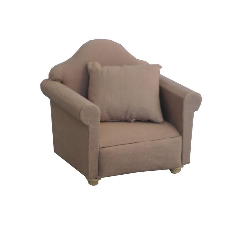Grey Traditional Armchair