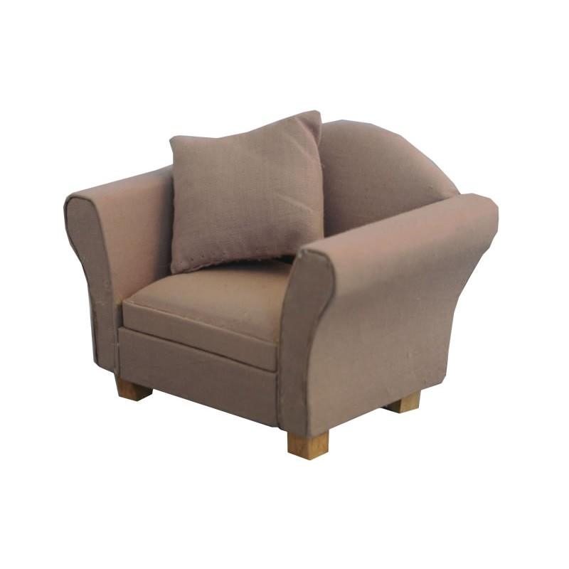 Grey Modern Armchair