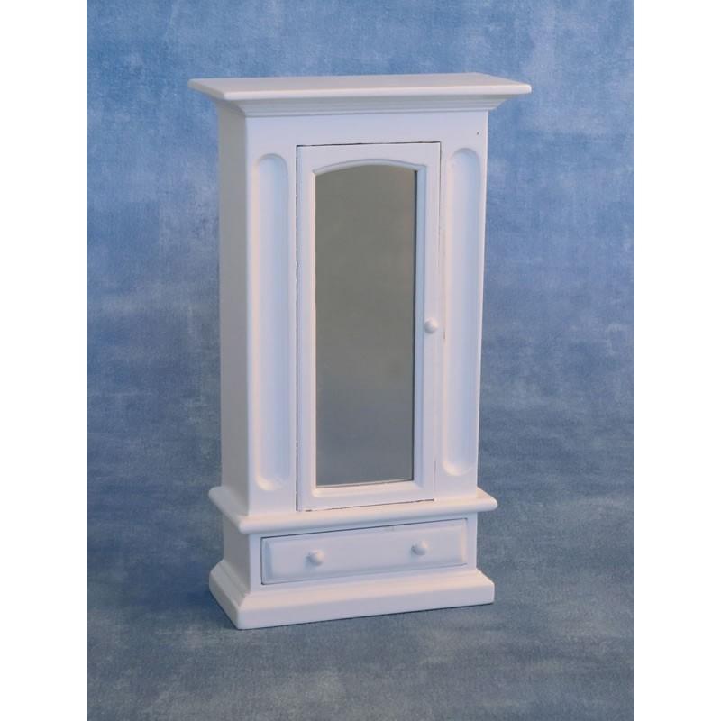 White Mirrored Wardrobe
