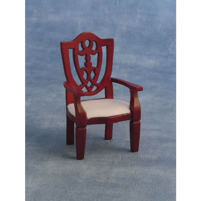 Carver Shield Chair Mahogany