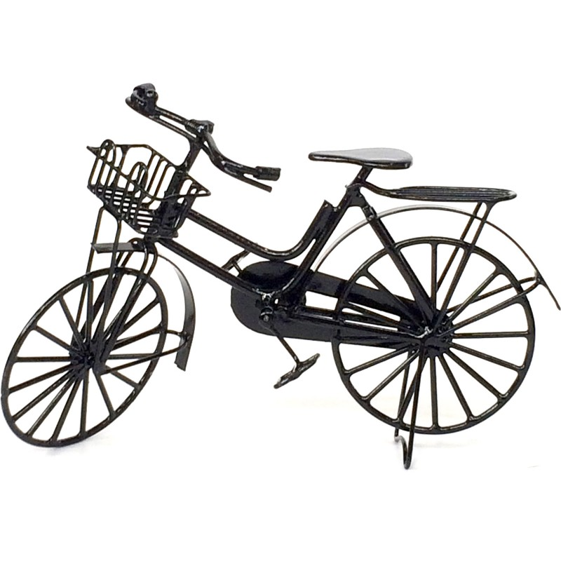 Woman's Black Bike