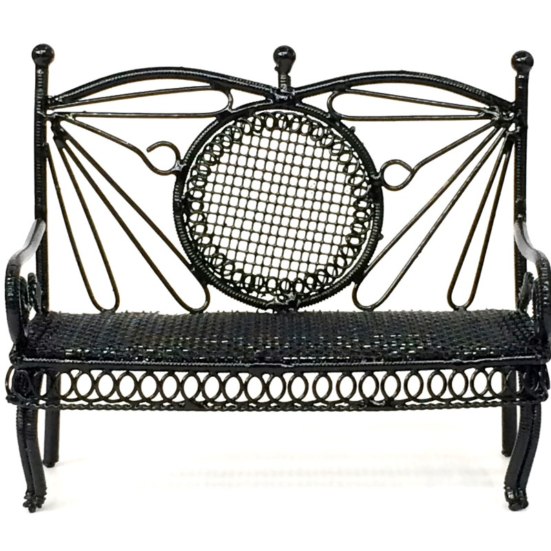 Black Small Bench