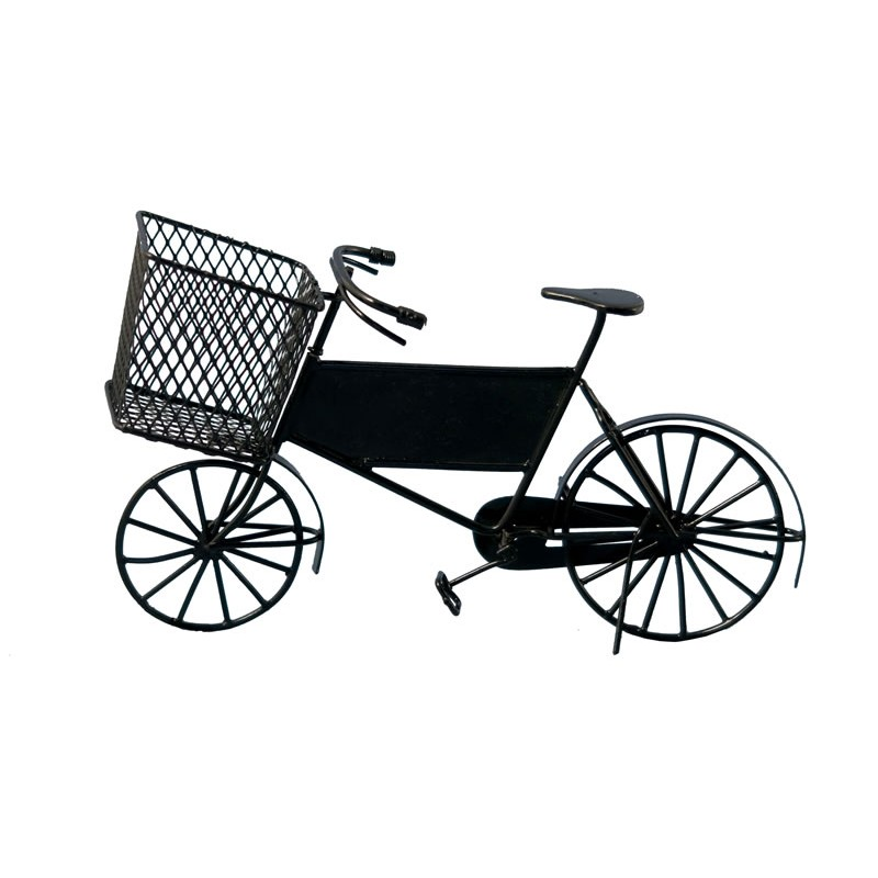 Streets Ahead Delivery Bike Black
