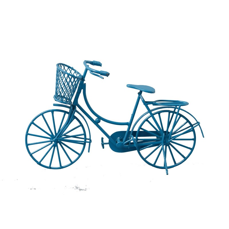 Streets Ahead Blue Shopping Bike