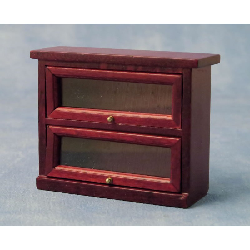 Babettes Miniaturen Wall Display Cabinet 2 Shelves
