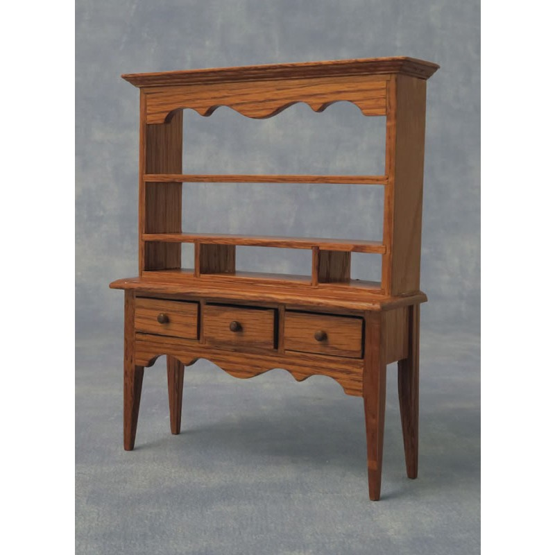 Babettes Miniaturen Oak Sideboard with drawers