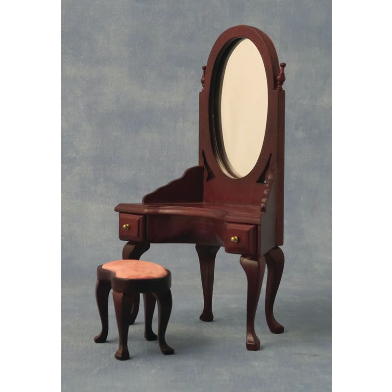 Babettes Miniaturen Dressing Table with stool