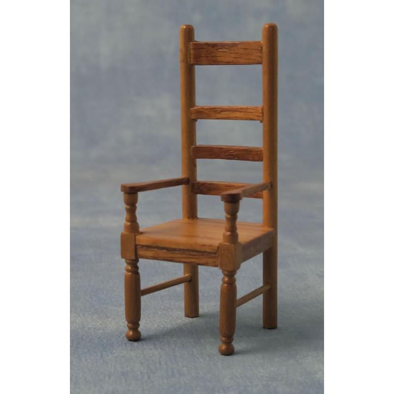 Babettes Miniaturen Oak Carver Chair