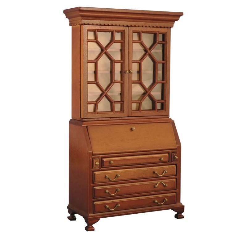 Babettes Miniaturen Cabinet Oak