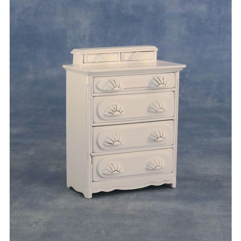 Babettes Miniaturen Chest of Drawers White