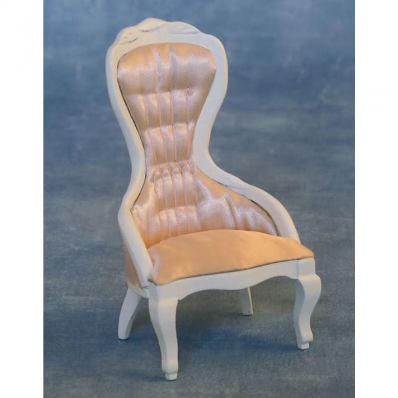 Babettes Miniaturen Victorian Ladies Chair White