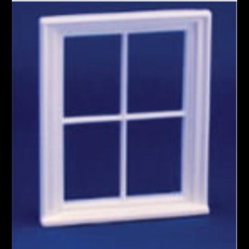 Victorian 4 Pane Window 1/24th