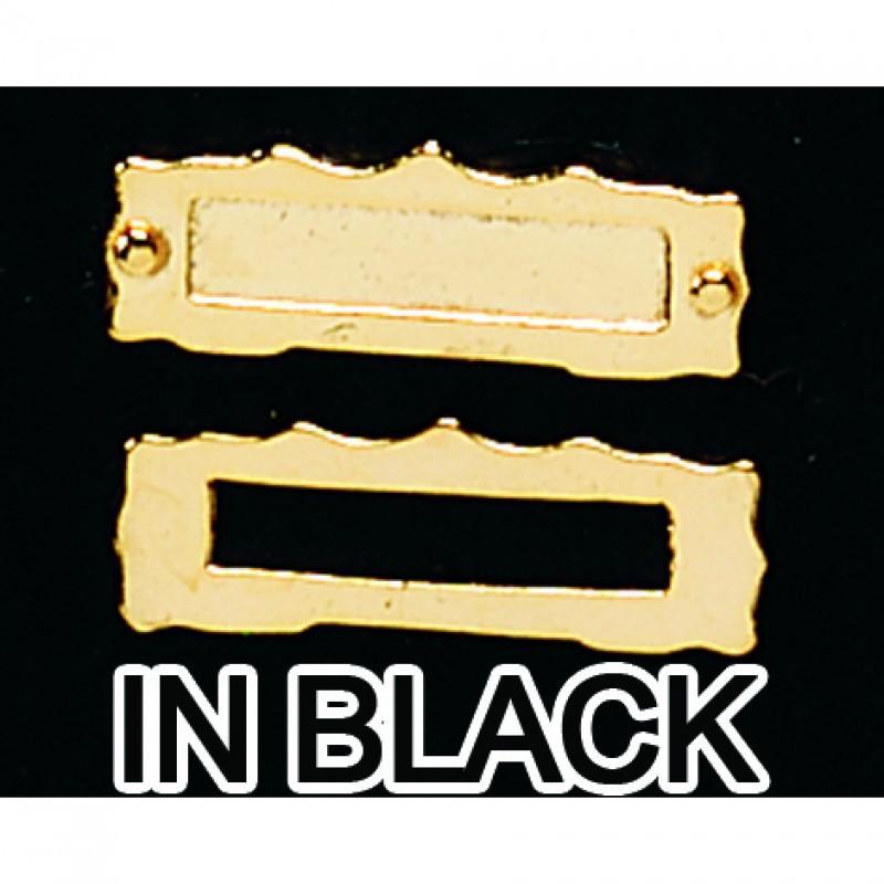 Black Metal Letterbox