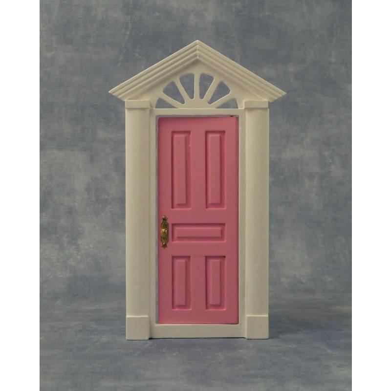 Pink Painted Door