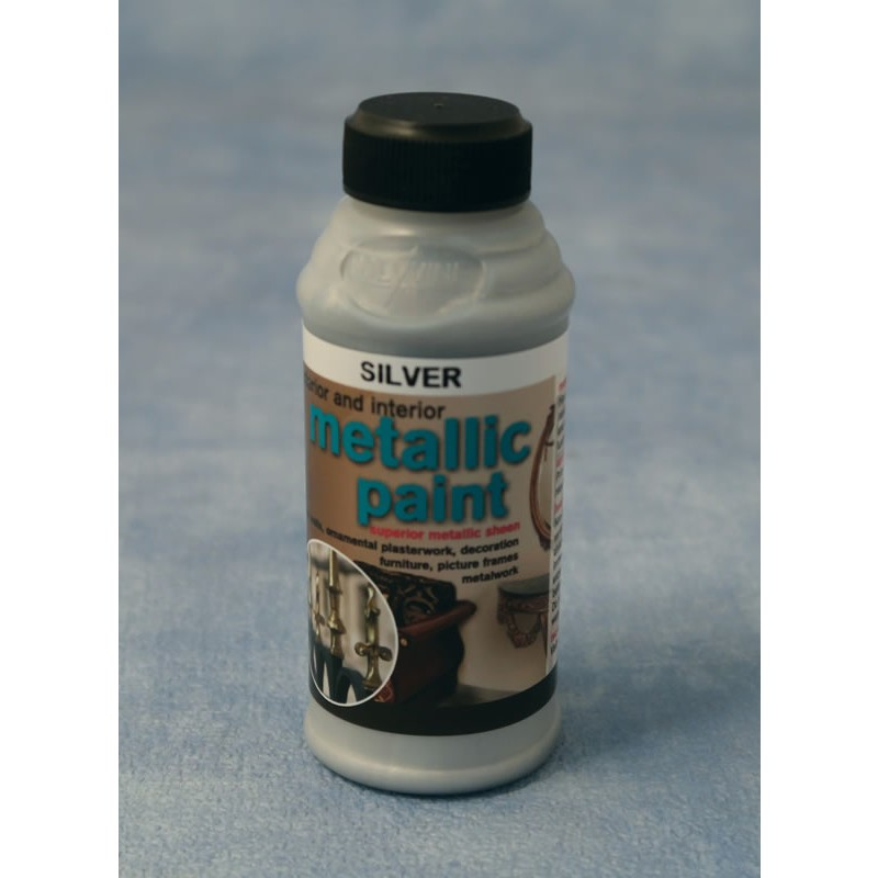 Streets Ahead Silver Metallic Paint 50g