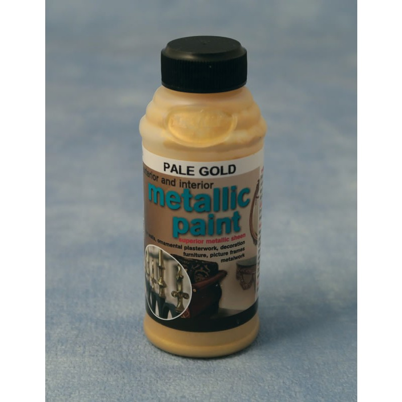 Streets Ahead Pale Gold Metallic Paint 50g