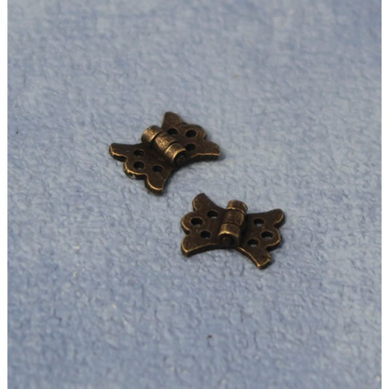 Streets Ahead Antique Butterfly Hinges pk2