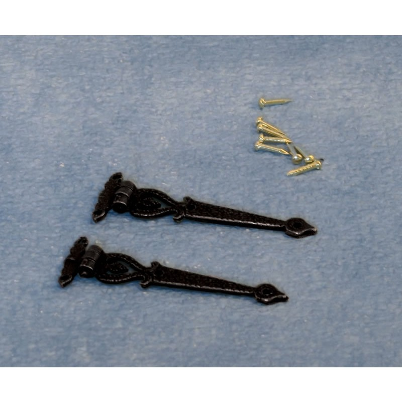Black Antique Hinges and Pins