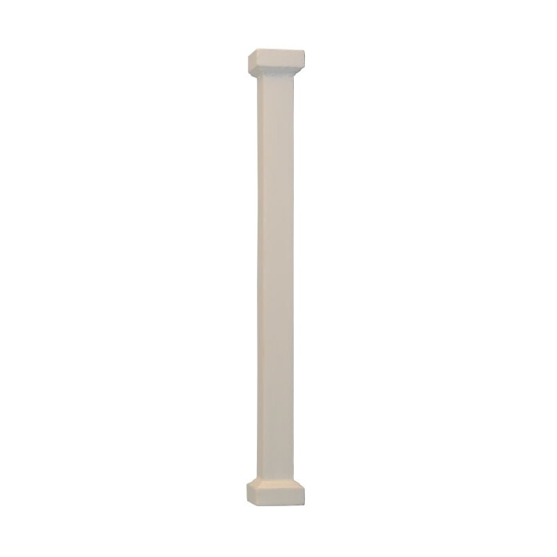 Square Pillar White