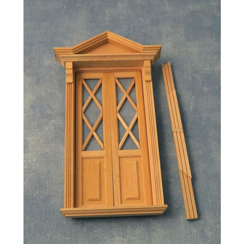 Babettes Miniaturen House Door 95/205 mm