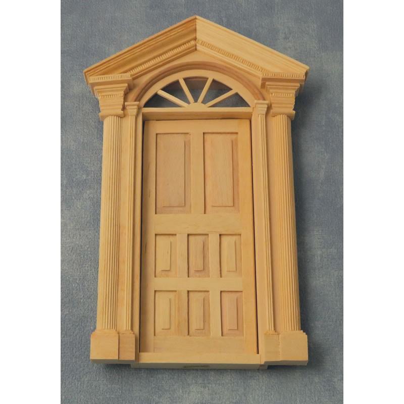 Babettes Miniaturen House Entrance Door
