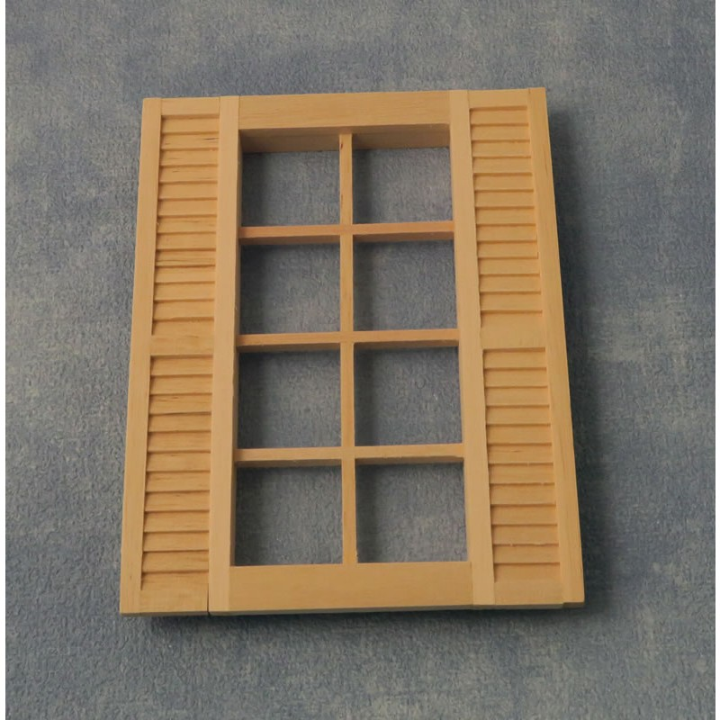 Babettes Miniaturen Shuttered Window 105/140mm