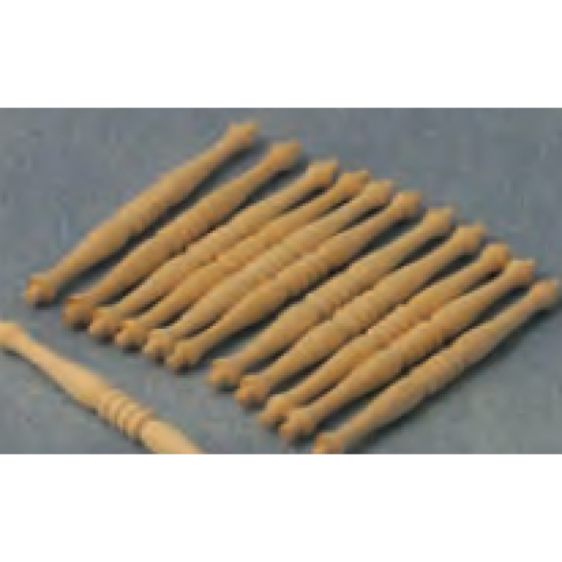 Babettes Miniaturen Spindles 12 pcs