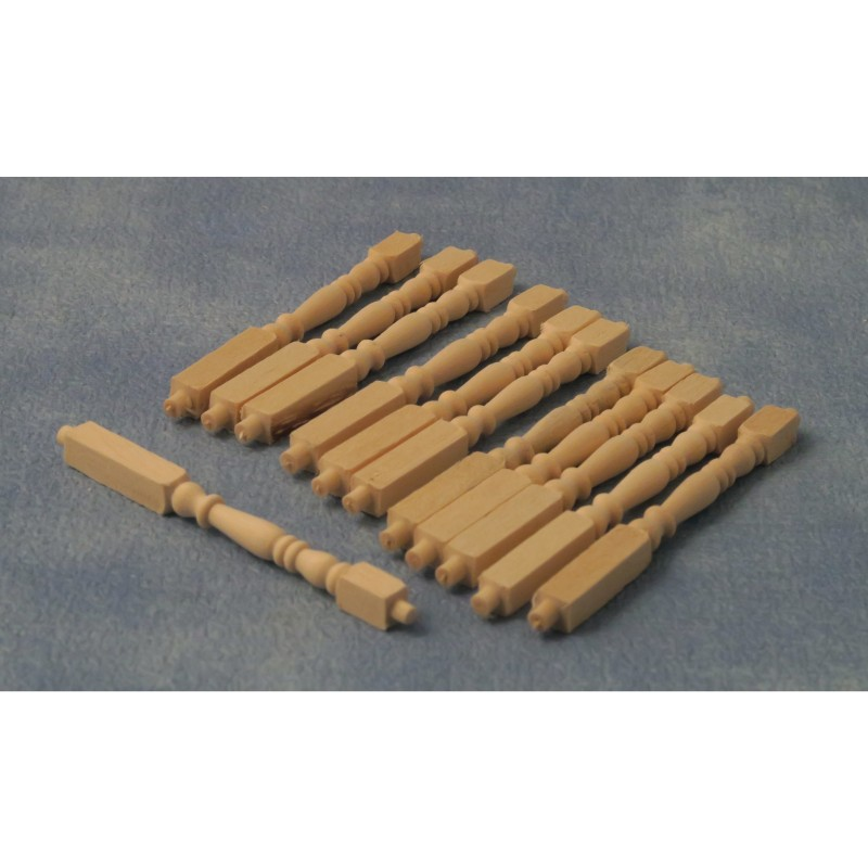 Babettes Miniaturen Railing Rod 12pc