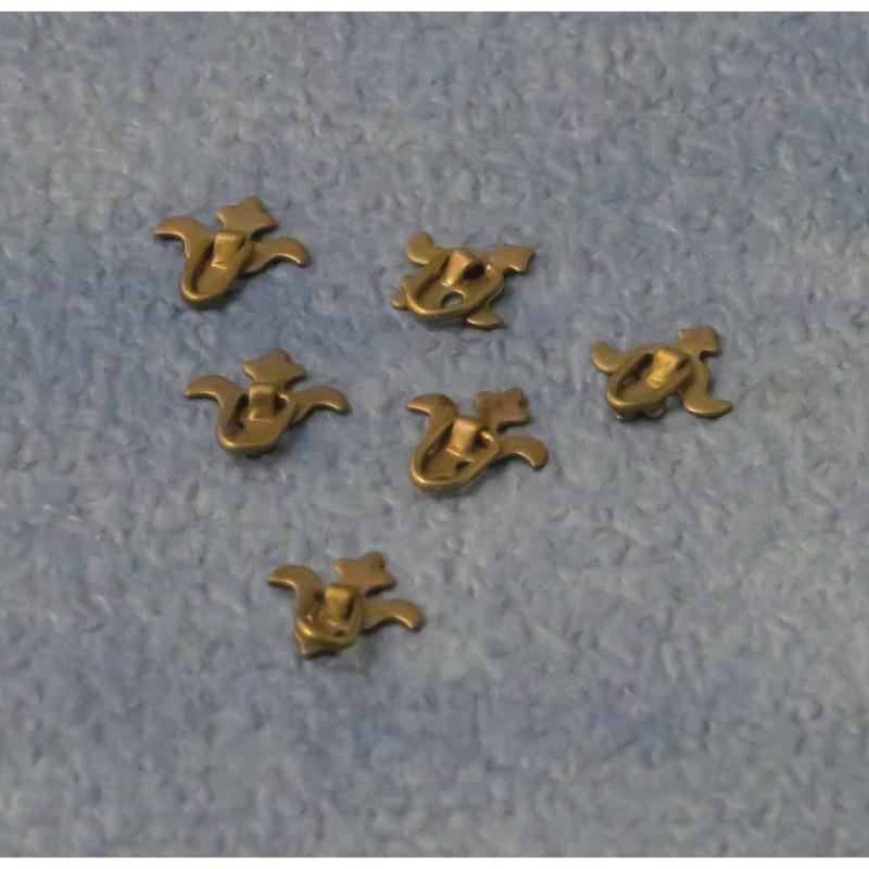 Babettes Miniaturen Chest handles 12pcs