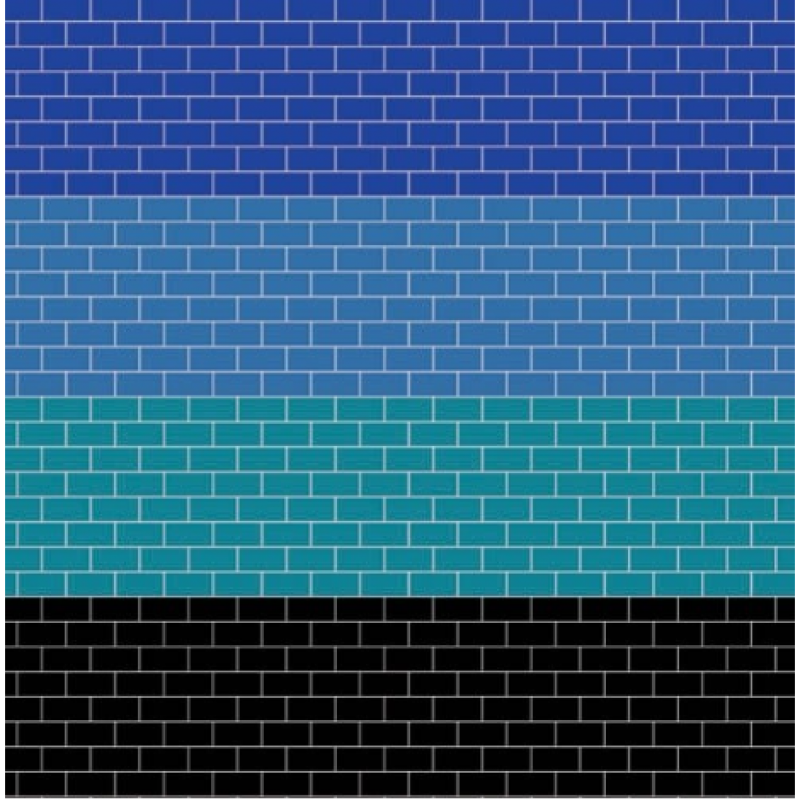 A3 Coloured Metro Tiling Embossed