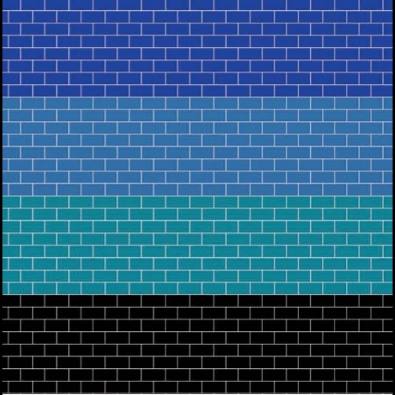 A3 Coloured Metro Tiling Gloss Card
